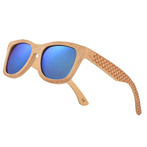 5ed62953422a Wood Sunglasses Polarized for Men and Women - Bamboo Wooden Sunglasses.  (19.99  )